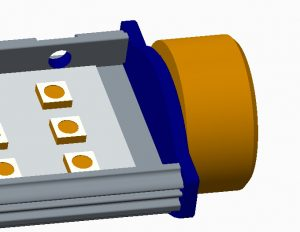 HVP Aqua Goldline eindfase prototype